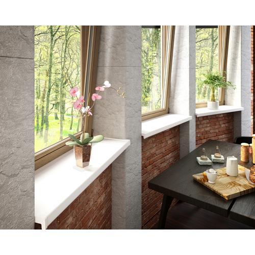 Baukulit VOX Fensterbank, LxT: 150x25 cm, weiß Fensterbank Fenster Bauen Renovieren