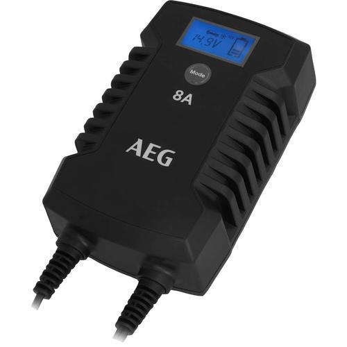 AEG Autobatterie-Ladegerät LD8, 8000 mA, IP66 schwarz Autobatterie-Ladegeräte Autozubehör Reifen