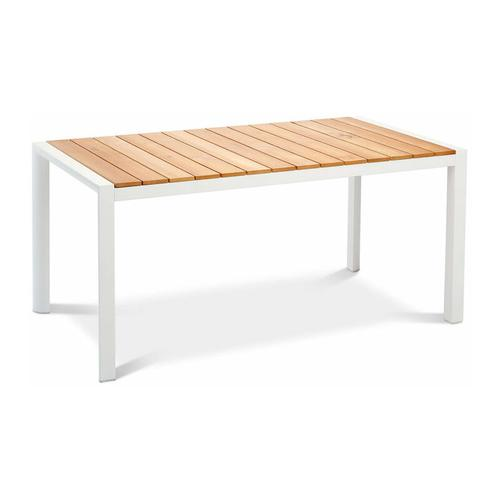 Tisch 'Paros', Teakholz, ca. 210 x 90 cm, zeitlose Optik, witterungsbeständig