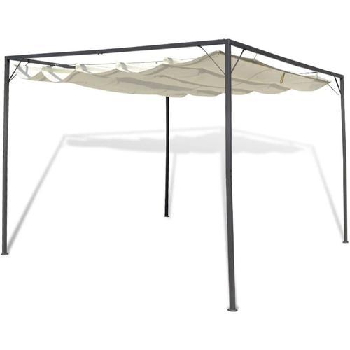 Betterlife - Gartenpavillon mit versenkbarem Dach