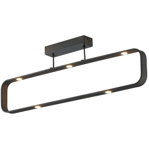 Luce Ambiente Design - LED Deckenleuchte Moka in Anthrazit 7x 5W 2450lm IP20