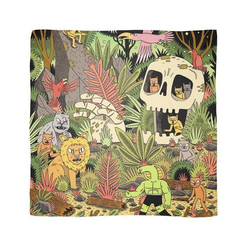 Der Dschungel Tuch