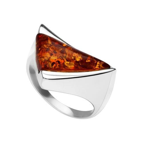 Ring - Imke Silber 925/000 Bernstein OSTSEE-SCHMUCK silber