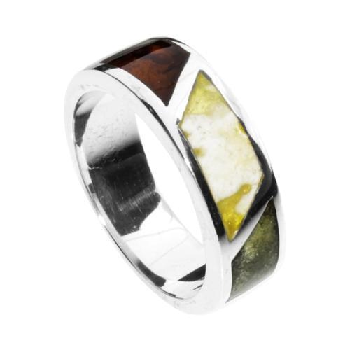 Ring - Byrte - Silber 925/000 - Bernstein OSTSEE-SCHMUCK silber
