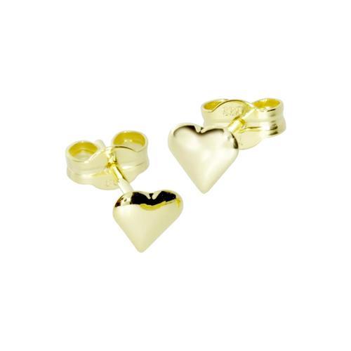 Ohrstecker - kleines Herz - Gold 333/000 - , OSTSEE-SCHMUCK gold