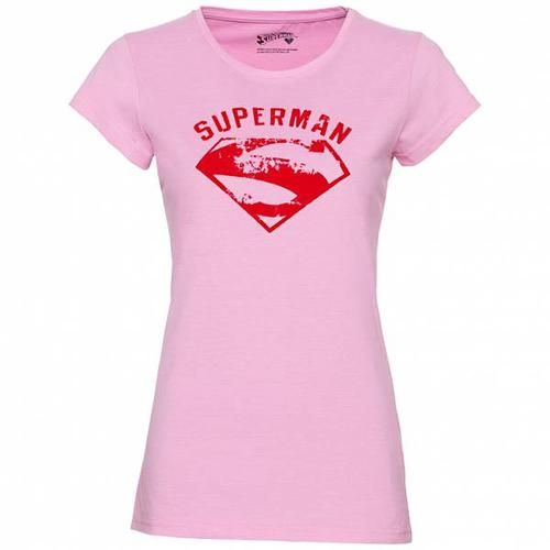 GOZOO x Supergirl und Superman Damen T-Shirt GZ-1-SUP-247-F-PM-1