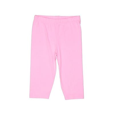 Baby Gap Leggings: Pink Solid Bottoms - Size 4