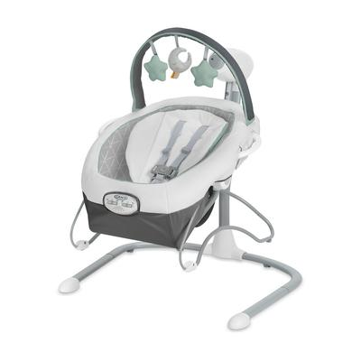 Soothe 'n Sway LX Swing with Portable Bouncer - Derby - Graco 2140066