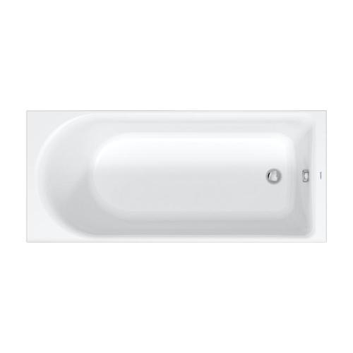 Duravit D-Neo Rechteck-Badewanne L: 170 B: 75 H: 46,5 cm 700479000000000