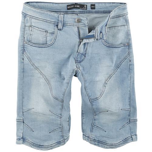 Indicode Leon Herren-Short - blau