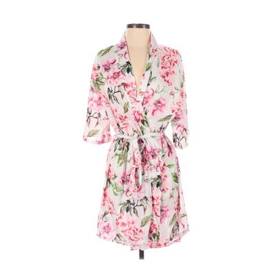 Show Me Your Mumu Kimono: Pink Floral Tops - Size Small