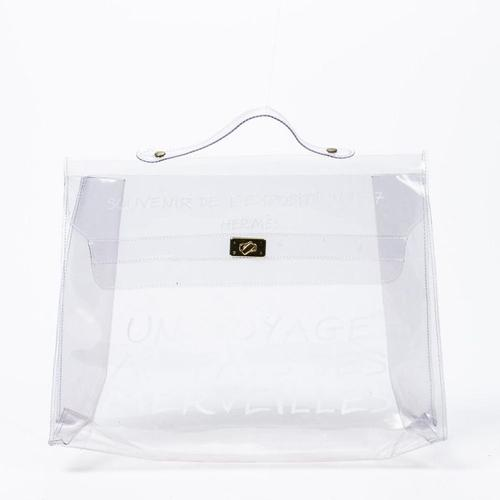 Hermès Vinyl Kelly Tasche