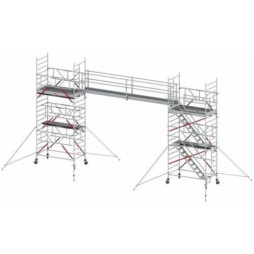 Steg Einzeln 2 Geländer 5m - Altrex