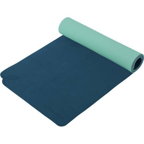 ENERGETICS Fitnessmatte / Yogamatte, Größe - in BLUE PETROL/BLUE LIG