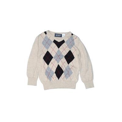 The Children's Place - The Children's Place Pullover Sweater: Tan Tops - Size 2Toddler
