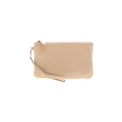 Handbag Butler Wristlet: Tan Solid Bags