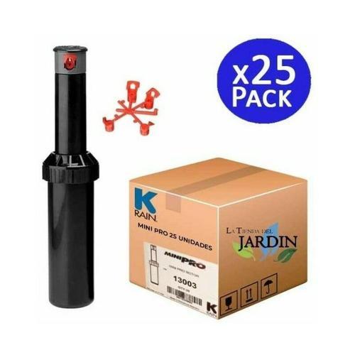 Suinga - 25 x KRain Minipro 1/2' Sprinkler, Reichweite 5,1 bis 9,1 m. Packung mit 25 Sprinklern,