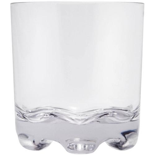 Q Squared NYC Whiskyglas, (Set, 6 tlg., x Gläser), Polycarbonat, 300 ml farblos Whiskygläser Gläser Glaswaren Haushaltswaren Whiskyglas