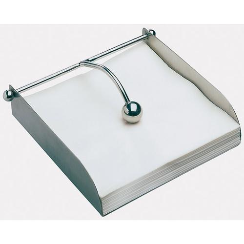 APS Serviettenhalter, poliert, 17x17x5 cm silberfarben Tischaccessoires SOFORT LIEFERBARE Haushaltswaren Serviettenhalter