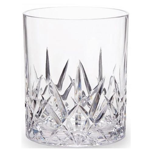 Q Squared NYC Whiskyglas, (Set, 6 tlg., x Gläser), aus sicherem Material - TRITAN-Kunststoff, 300 ml farblos Whiskygläser Gläser Glaswaren Haushaltswaren Whiskyglas