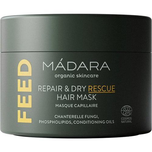 MÁDARA Organic Skincare FEED Repair & Dry Rescue hair mask 180 ml Haarmaske