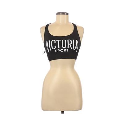 Victoria Sport Sports Bra: Black Graphic Activewear - Size Small