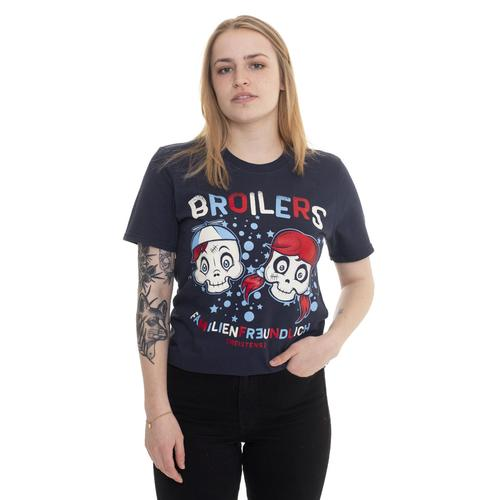 Broilers - Familienfreundlich Navy - - T-Shirts