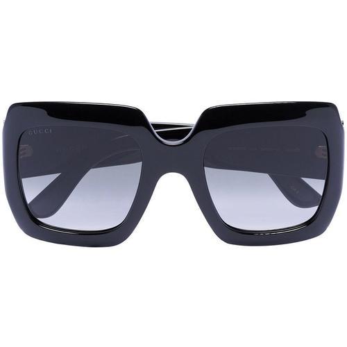 Gucci Eckige Sonnenbrille mit GG