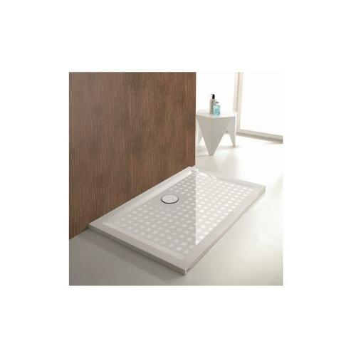Mineralguss-Duschwanne Mineralguss-Duschwanne MUNA 1400 x 1000 x 30 mm weiß - Hoesch