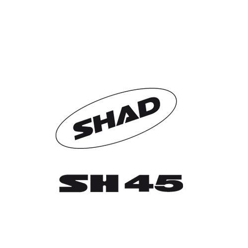 SHAD SH45 SHAD AUFKLEBER 2011