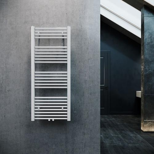 Badheizkörper Handtuchheizkörper Handtuchwärmer Handtuchtrockner 1200x500mm Weiß