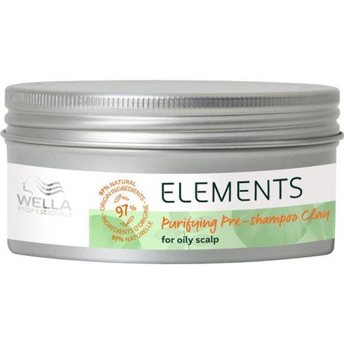 Wella Elements Purifying Pre-shampoo Clay 225 ml Kopfhautshampoo