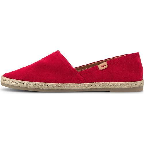 COX, Espadrille in rot, Espadrilles für Damen Gr. 37