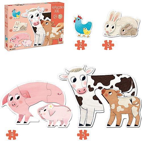 XXL-Puzzle Tiermütter Und Ihre Babys