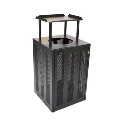 emu 886 Outdoor Litter Bin w/ Tray - 22