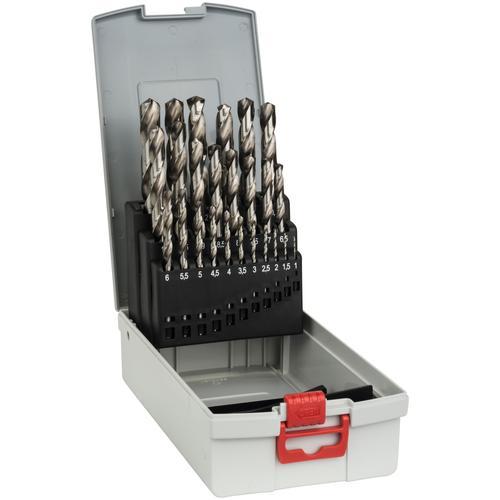 BOSCH Bohrersatz, (Set, 25 tlg.) grau Zubehör Werkzeug Maschinen Bohrersatz