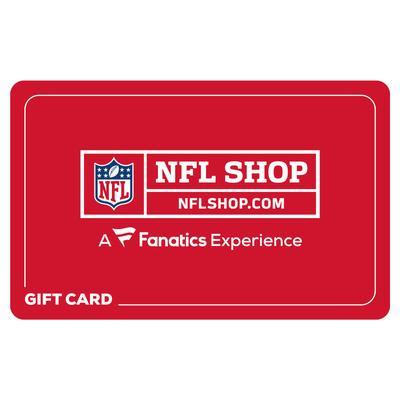 NFL Shop eGift Card ($10 - $500)