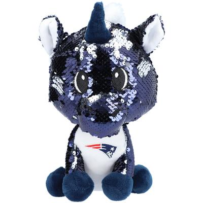 New England Patriots FOCO 9'' Sequin Unicorn Plush Toy
