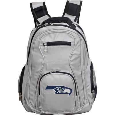 Seattle Seahawks Gray Premium Laptop Backpack