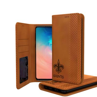 New Orleans Saints Galaxy Burn Design Folio Case