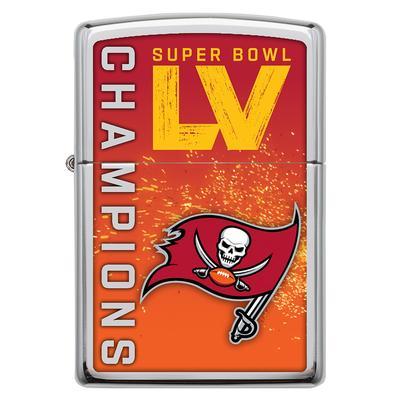 Tampa Bay Buccaneers Zippo Super Bowl LV Champions Lighter