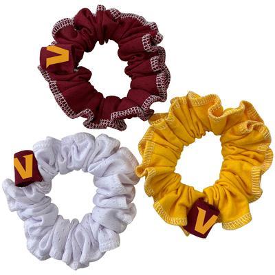 Washington Football Team Refried Apparel 3-Pack Scrunchie Set