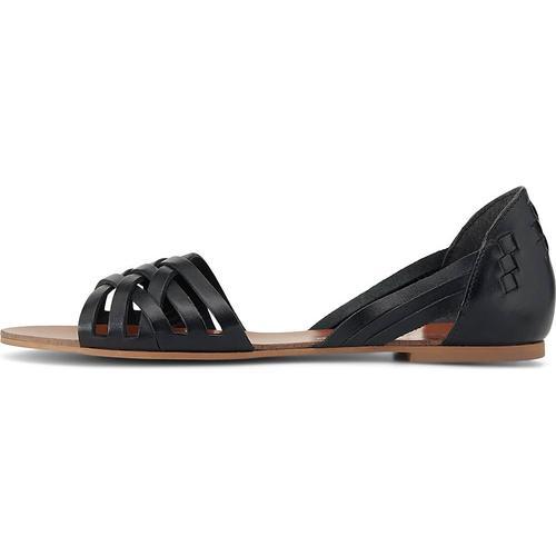 COX, Sommer-Sandale in schwarz, Sandalen für Damen Gr. 37