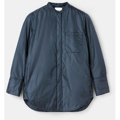 Aspesi Blusen & Tops - Hemdjacke aus Nylon NAVYBLAU 100% Nylon S