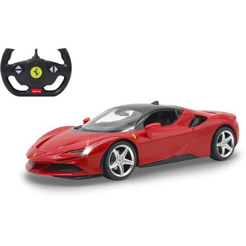 Jamara RC-Auto Ferrari SF90 Stradale 1:14, rot - 2,4 GHz Kinder RC Auto Autos, Eisenbahn Modellbau