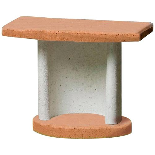 Buschbeck Beistelltisch Georgia, für Grillkamine, BxTxH: 70x41x57 cm grau Beistelltische Tische