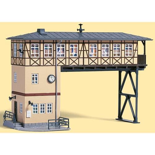 Auhagen Modelleisenbahn-Gebäude Brückenstellwerk, Made in Germany braun Kinder Schienen Zubehör Modelleisenbahnen Autos, Eisenbahn Modellbau