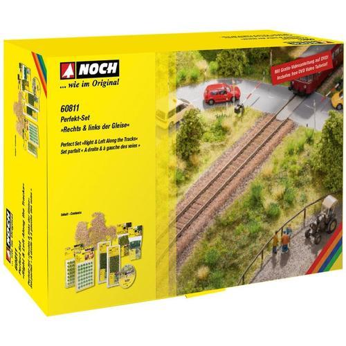 NOCH Modelleisenbahn-Busch Rechts & links der Gleise grün Kinder Schienen Zubehör Modelleisenbahnen Autos, Eisenbahn Modellbau