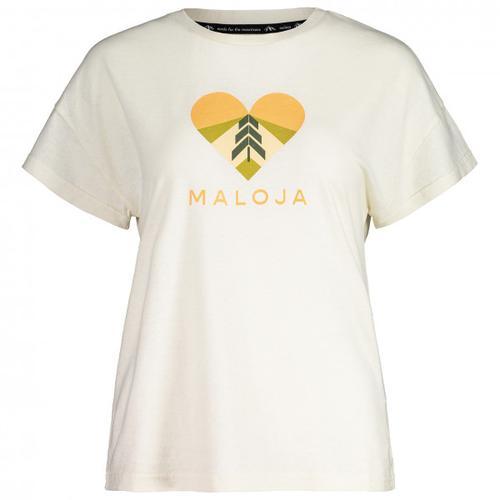Maloja - Women's KlappertopfM. - T-Shirt Gr XS weiß