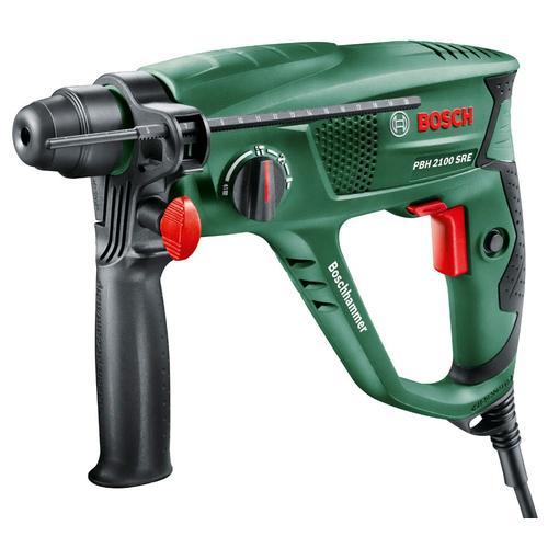 BOSCH Bohrhammer PBH 2100 SRE grün Bohrhämmer Werkzeug Maschinen